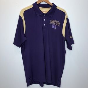 EUC University of Washington Polo Size XL